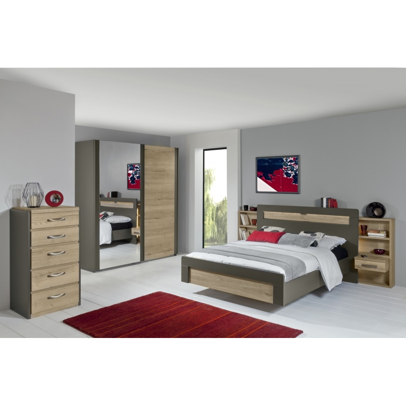 lit calypso le g ant du meuble. Black Bedroom Furniture Sets. Home Design Ideas
