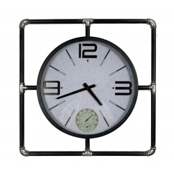 Pendule, thermomètre, hygromètre Tempo