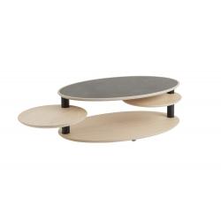 Table ovale Minéral