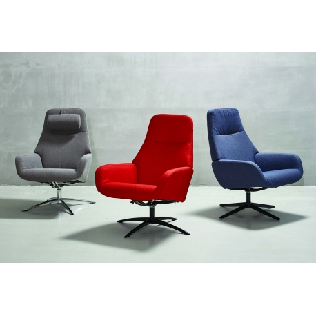 Fauteuil relax pivotant Camillo
