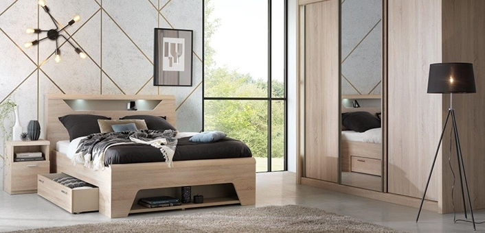 lits le g ant du meuble. Black Bedroom Furniture Sets. Home Design Ideas