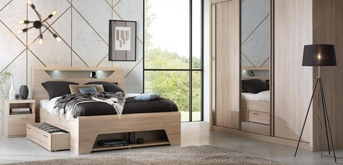 lits le g ant du meuble. Black Bedroom Furniture Sets. Home Design Ideas