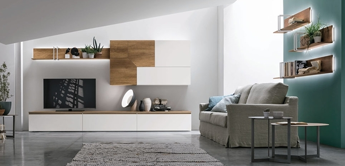 meubles tv le g ant du meuble. Black Bedroom Furniture Sets. Home Design Ideas