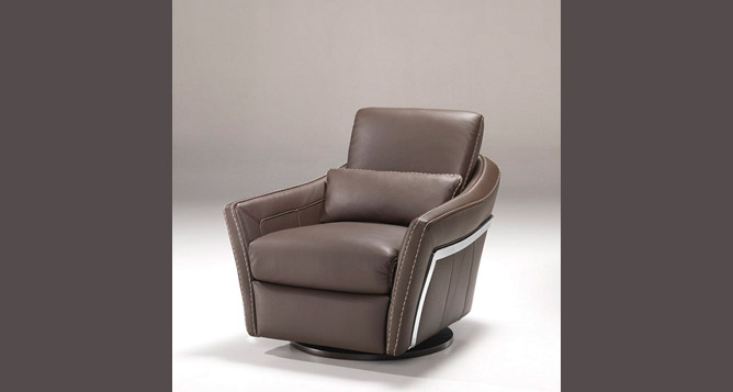 meubles ortelli fauteuil tournant cuir cosmos. Black Bedroom Furniture Sets. Home Design Ideas