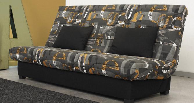 meubles ortelli banquette clic clac pour couchage 140 x 200 cm meli. Black Bedroom Furniture Sets. Home Design Ideas