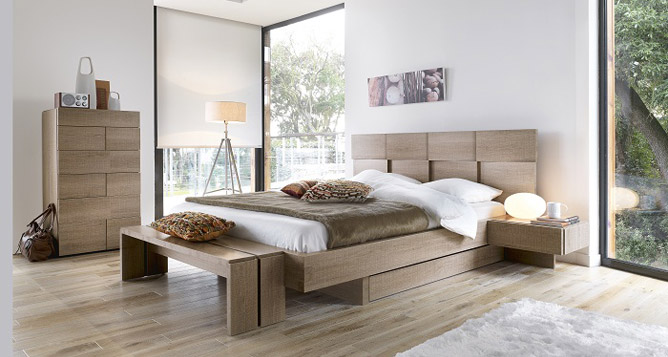 Chambres adultes le geant du meuble for Chambre a coucher adulte contemporaine