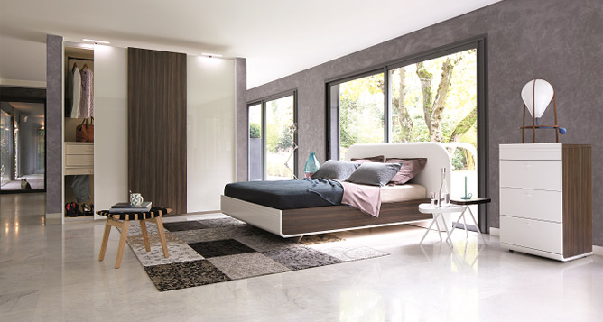 chambre a coucher celio murano chambres adultes le geant du meuble. Black Bedroom Furniture Sets. Home Design Ideas