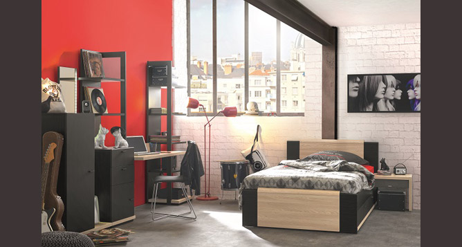 Chambres juniors meubles orlong for Chambre a coucher junior