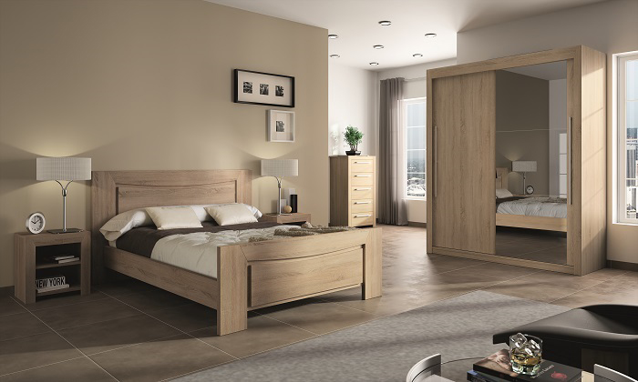 Chambres adultes le geant du meuble for Photo deco chambre a coucher adulte