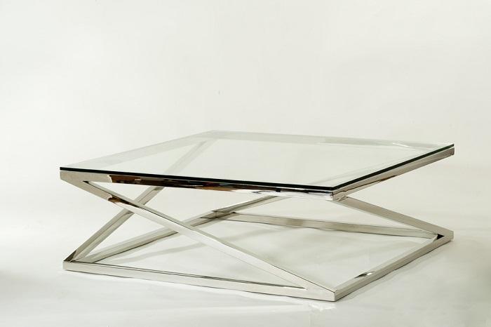 TABLE BASSE CARREE
