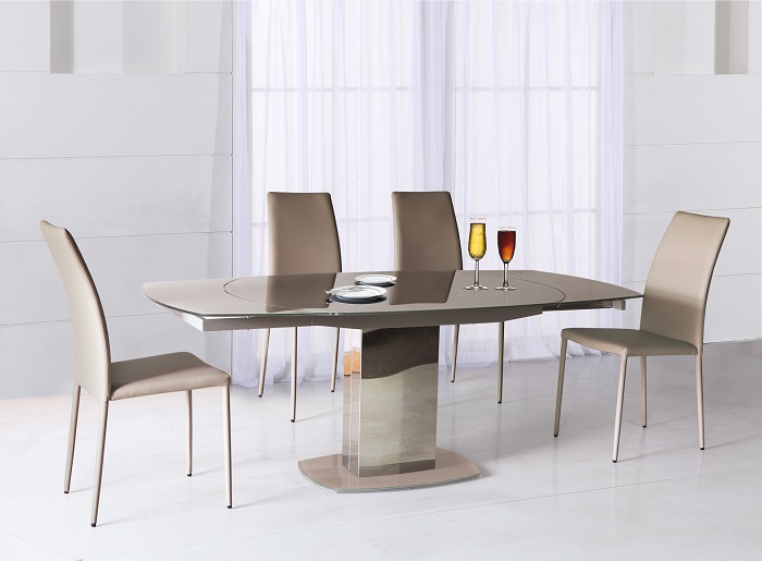Table de repas rectangulaire korol tables chaises for Le geant du meuble la valette