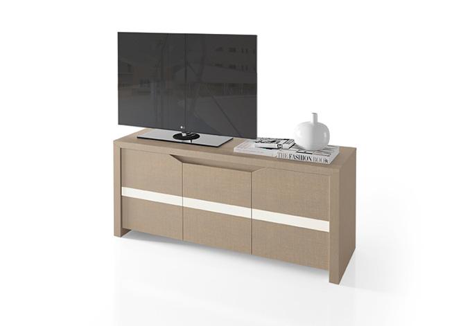 Meuble tv 2 portes ct05 ernest meubles tv le geant du for Geant du meuble