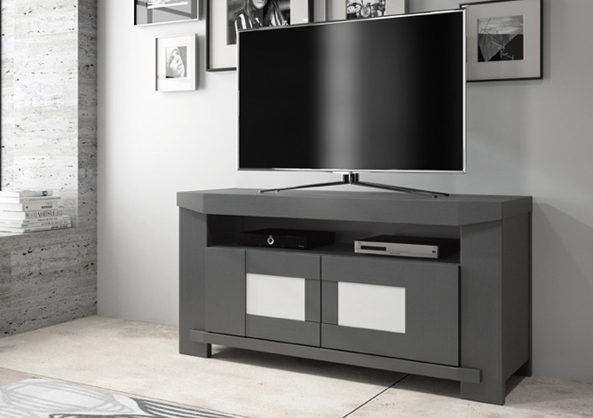 meuble t l ernest lectrifi meubles tv le geant du meuble. Black Bedroom Furniture Sets. Home Design Ideas