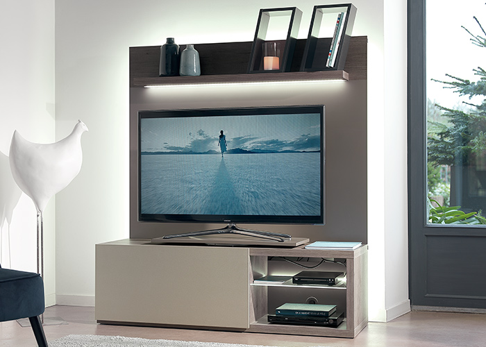 meubles tv le geant du meuble. Black Bedroom Furniture Sets. Home Design Ideas