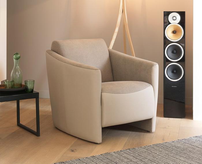 Fauteuil wilson canap s modernes le geant du meuble for Geant du meuble
