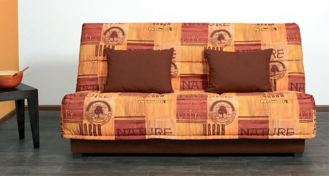 Banquette clic clac pour couchage 130 x 190 cm
