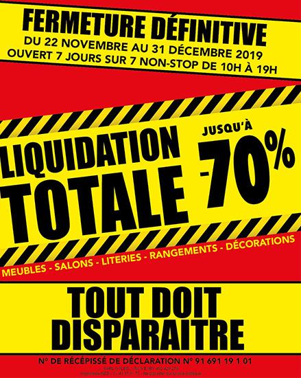 Liquidation Yerres